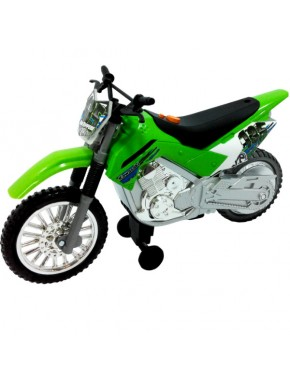 Мотоцикл Toy State Kawasaki KLX 140 Moto-Cross Bike 25 см