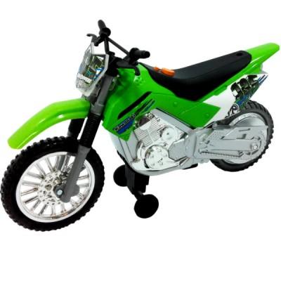 Мотоцикл Toy State Kawasaki KLX 140 Moto-Cross Bike 25 см