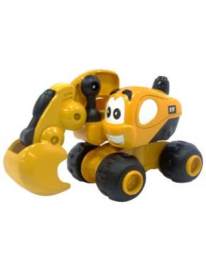 Игрушка Toy State Инерционная техника САТ для малышей Экскаватор Дэйв 9 см