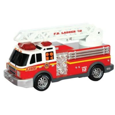 Игрушка Спасательная техника Пожарная машина со светом и звуком 30 см
