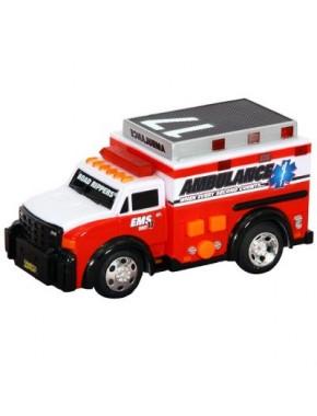 Игрушка Toy State Спасательная техника Скорая помощь со светом и звуком 13 см