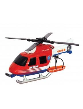 Игрушка Toy State Спасательная техника Вертолет со светом и звуком 30 см
