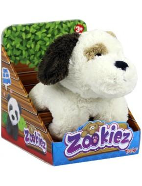 Плюшевый Белый щенок Zookies