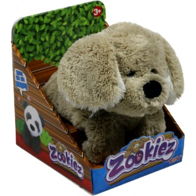 Плюшевый Серый щенок Zookies