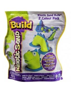Песок для детского творчества - KINETIC SAND BUILD