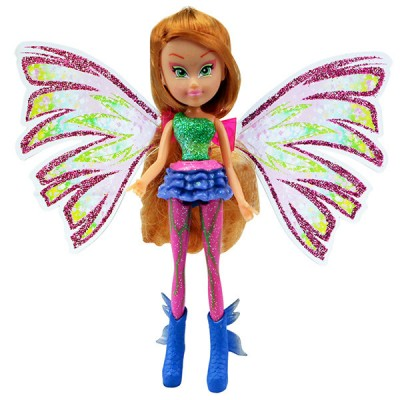 Кукла Winx Sirenix Mini Флора 12 см