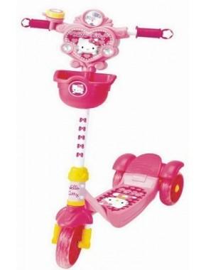 Скутер-самокат YaYa Hello Kitty с тормозами