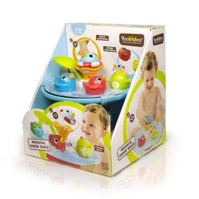 """Музыкальная игрушка-фонтан """"Утиные гонки"""" Yookidoo (40138)"""