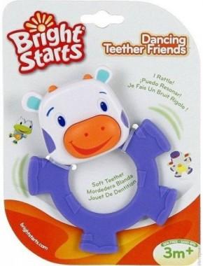 Погремушка-прорезыватель Танцующий зверек Bright Starts Dancing Teether Friends (10220)