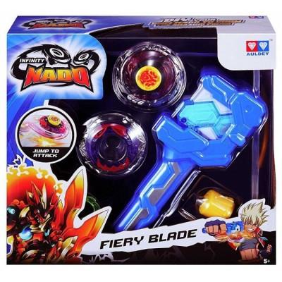 Бейблейд Nado Infinity - Атлетик Fiery Blade Огненный Клинок с устройством старта (YW624502)