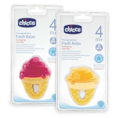 """Зубное охлаждающее кольцо """"Мороженое"""" Chicco"""