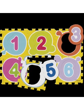 "Коврик-мозаика ""Числа"""