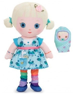 Мягкая игрушка Mooshka - кукла Мишель 24 см, с аксессуарами Zapf
