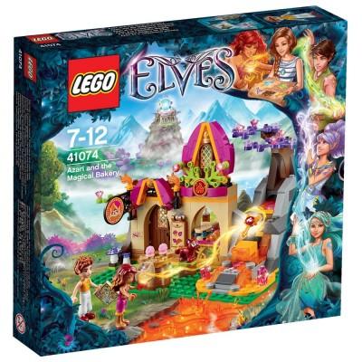 Конструктор LEGO Elves Азари и волшебная пекарня (41074)