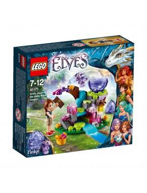 Конструктор LEGO Elves Эмили Джонс и дракончик ветра (41171)