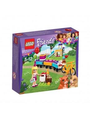 Конструктор LEGO Friends День рождения: Парк аттракционов (41111)