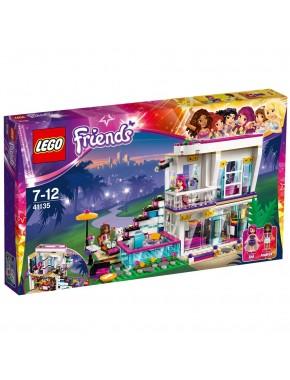 Конструктор LEGO Friends Поп-звезда: Дом Ливи (41135)