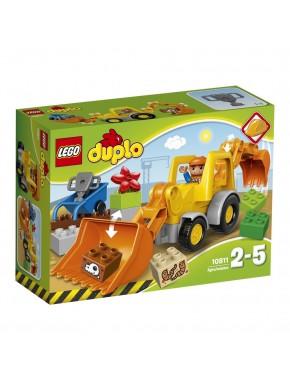 Конструктор LEGO DUPLO Экскаватор-погрузчик (10811)