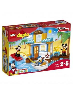 Конструктор LEGO DUPLO Микки и его друзья: Домик на пляже (10827)