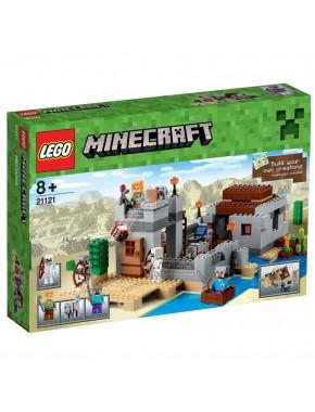 Конструктор LEGO MINECRAFT Застава в пустыне (21121)