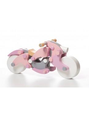 Деревянная игрушка Cubika Мотоцикл girl-чоппер LM-1 (11629)