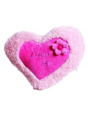 """Подушка """"Серце - квітка велика"""""""