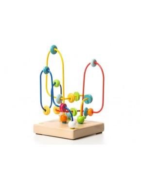 Деревянная игрушка Cubika Лабиринт квадрат LT-1 (11568)