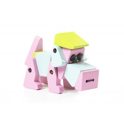 Деревянная игрушка Cubika Собака Акробат LA-1 (11858)