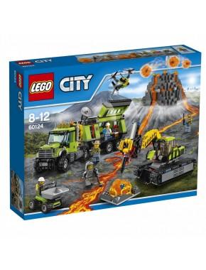 Конструктор LEGO City База исследователей вулканов (60124)