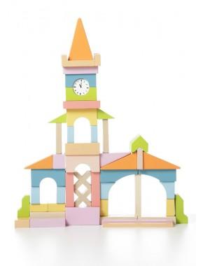 Деревянная игрушка Cubika Ратуша LV-1 (11360)
