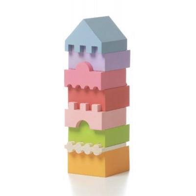 Деревянная игрушка Cubika Пирамидка LD-4 (11339)