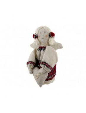 Девочка Ангел мягкая игрушка 18см Левеня