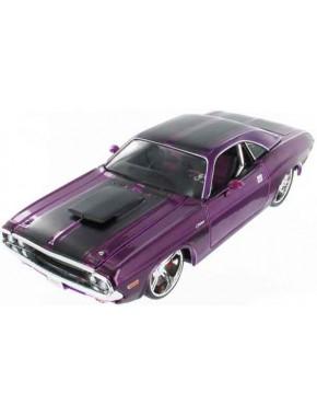 Автомодель Maisto (1:24) 1970 Dodge Challenger R/T Coupe Фиолетовый - тюнинг