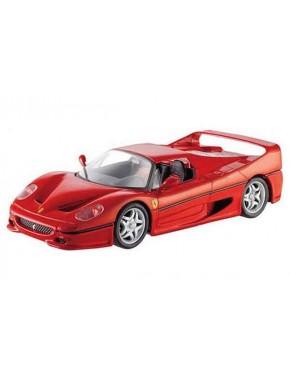 Сборная автомодель Maisto (1:24) Ferrari F50 Hard Top Красный