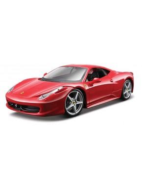 Сборная автомодель Maisto (1:24) Ferrari 458 Italia Красный