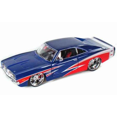Автомодель Maisto (1:25) 1969 Dodge Charger R/T Синий - тюнинг
