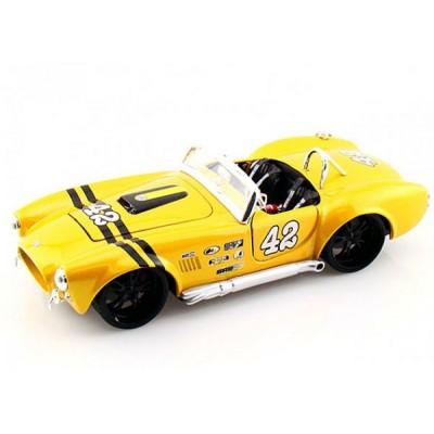 Автомодель Maisto (1:24) Shelby Cobra 427 1965 Жёлтый тюнинг