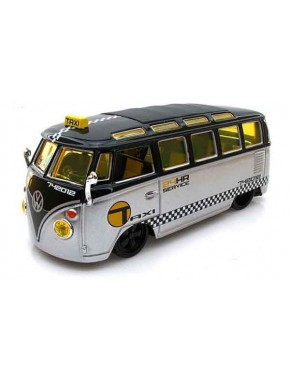 Автомодель Maisto (1:25) Volkswagen Van Samba Серебристо-чёрный тюнинг