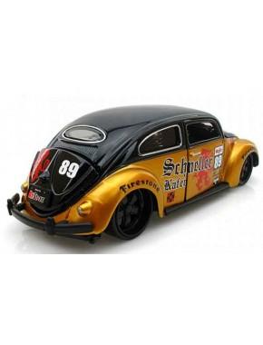 Автомодель Maisto (1:24) Volkswagen Beetle Чёрно-золотистый
