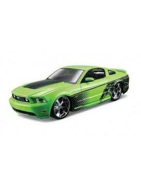 Автомодель Maisto (1:24) Ford Mustang GT 2010 Зеленый тюнинг