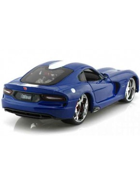 Автомодель Maisto (1:24) SRT Viper GTS 2013 Синий металлик тюнинг