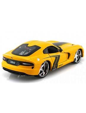 Автомодель Maisto (1:24) SRT Viper GTS 2013 Желтый тюнинг