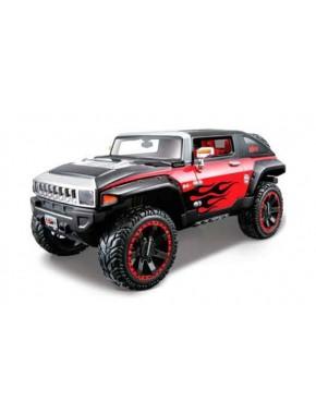 Автомодель Maisto (1:27) Hummer Hx 2008 Оранжево-черный тюнинг