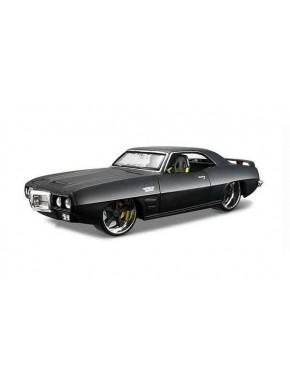 Автомодель Maisto (1:24) Pontiac Firebird 1969 Чёрный тюнинг