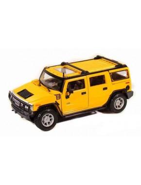 Автомодель Maisto (1:27) 2003 Hummer H2 SUV Жёлтый