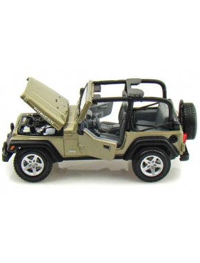 Автомодель Maisto (1:24) Jeep Wrangler Rubicon  Светло-зелёный