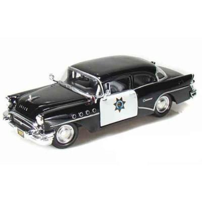 Автомодель Maisto (1:24) 1955 Buick Century Чёрный