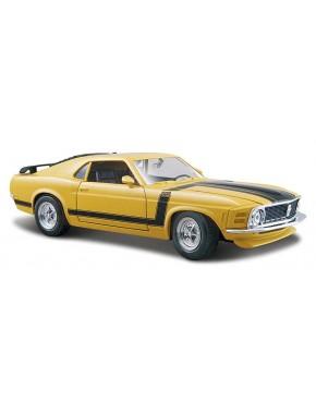 Автомодель Maisto (1:24) '70 Ford Boss Mustang  Жёлтый