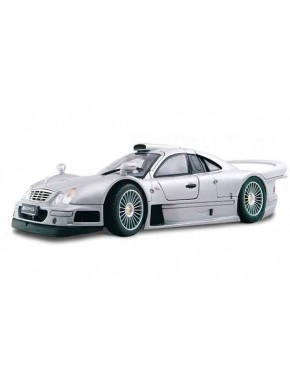 Автомодель Maisto (1:26) Mercedes CLK-GTR street version Серебристый