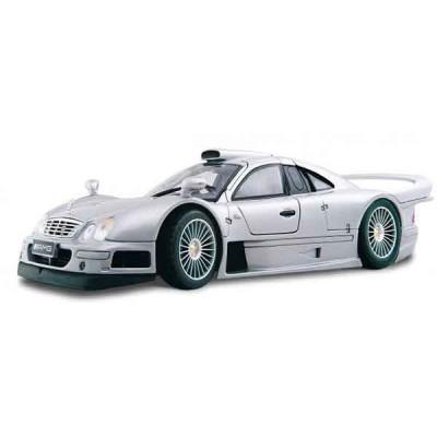 Автомодель Maisto (1:26) Mercedes CLK-GTR street version Серебристый